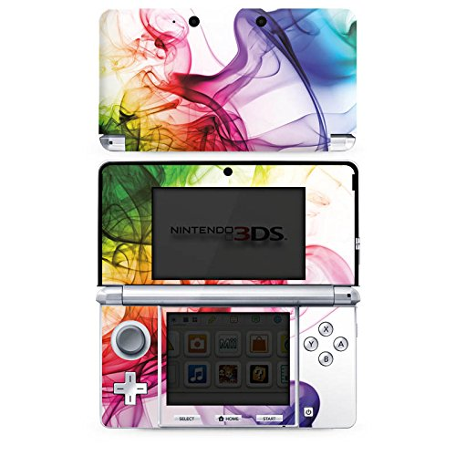 DeinDesign Skin kompatibel mit Nintendo 3 DS Folie Sticker Farbe Wasser Regenbogen