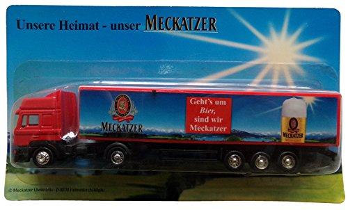 Meckatzer Nr.04 - Geht's um Bier, sind wir.... - MAN F 2000 - Sattelzug