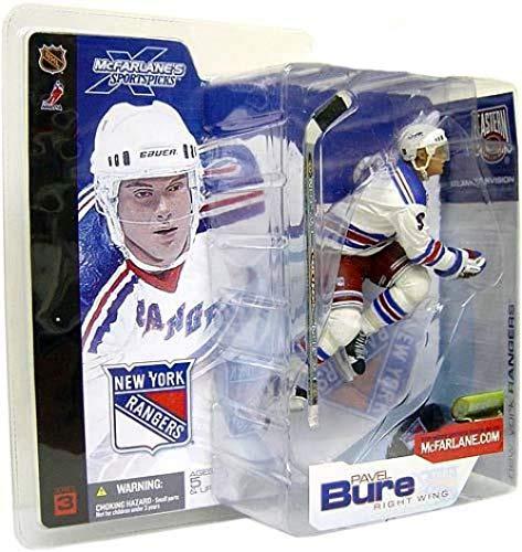 McFarlane Toys NHL Sports Picks Series 3 Action Figure: Pavel Bure (New York Rangers) White Jersey