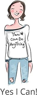 You Can Do It Yes I Can: You Can Do Anything: A Motivational Notebook for Girls Who Love to Journal