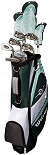 Wilson Profile XLS Women's Graphite Golf Club Package Set with Bag, Teal