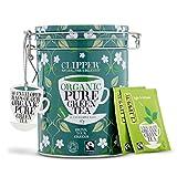 Clipper Organic Tea Gift Caddy Envelopes, 30-Count, Green