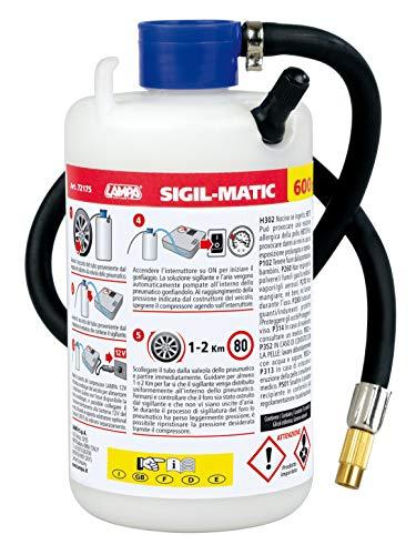 Lampa 72175 Sigil-Matic, kit liquido sigillante per pneumatici, 600 ml