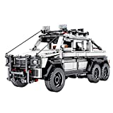 Teakpeak Technic Voiture, 858pièces Pull Back Voiture Tout-TerrainVoiture a Construire -Jeux de Construction Voiture - Compatible avec Lego