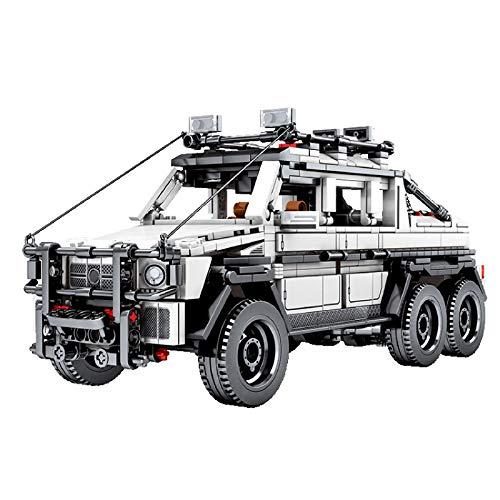 YDDY Technik Bausteine Auto Zurückziehen 858 Teile Bausteine Offroad Car Kompatibel mit Lego Technik