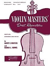 Violin Masters' Duet Repertoire: Violin Duet Collection - Unaccompanied (Rubank Educational Library)