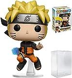 Funko Pop! Anime: Naruto Shippuden - Naruto Rasengan #181 Vinyl Figure (Bundled with Pop BOX PROTECTOR CASE)