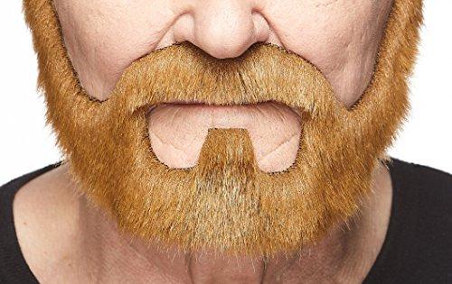 Mustaches Barba Pelirroja Estilo bajo fianza