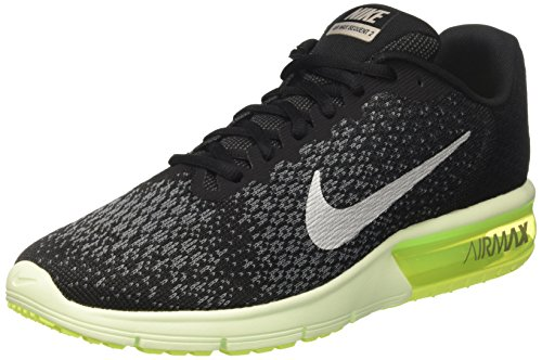 Nike Air Max Sequent 2, Scarpe da Ginnastica Uomo, Nero (Black/anthracite/metallic Cool Grey), 46 EU