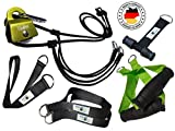 BodyCROSS Suspension Trainer con polea | Sistema de Entrenamiento en suspensión con polea