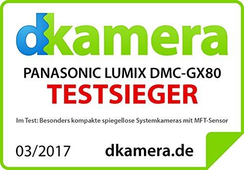 Panasonic Lumix DMC-GX80EG-K Fotocamera