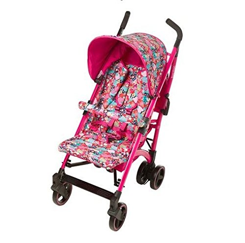 TUC TUC Girls Tuctuc Yupi Buggy Kimono Tuc Tuc The yuppie shine tuck tuck pushchair is designed for maximum comfort for both child and parents. comfortable for the baby because of the big seat and its tilt of up to 150º. Certified: from birth to 15 kg. metal-colored aluminum structure. umbrella-type folding. easily removable dual layer polyester lining. ova protective hood. recline to 150º in four positions using one hand. suspension system in 4 groups of wheels, Easy-access single brake. includes carrying handle. multi-position harness retainer with five anchor points. accessories included: rain cover, basket to carry objects, dual fabric extendible hood with visor. 1