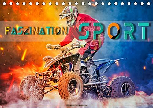 Faszination Sport (Tischkalender 2021 DIN A5 quer)