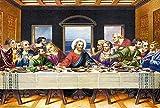 Puzzles Adultos 1000 Piezas Rompecabezas Jesús De La Última Cena Art Painting Puzzle Decoración Rompecabezas Educativos Juegos De Bricolaje Brain Challenge Puzzle Sets