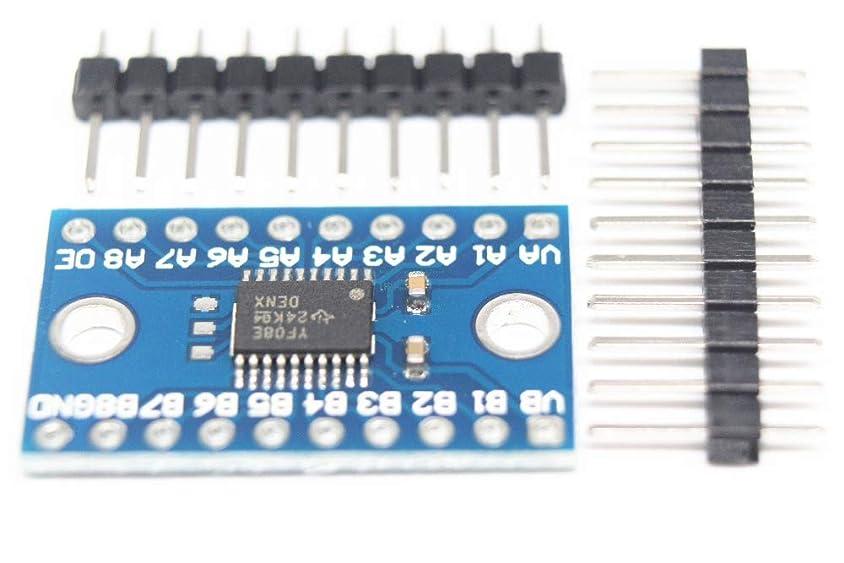 必要不毛推定するWillBest TXS0108E 8-way level conversion module 8 bit bidirectional voltage converter 100PCS.