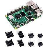 GeeekPi Dissipatori di Calore per Raspberry Pi 4 Modello B, Raspberry Pi 4B Dissipatori di Alluminio con Nastro Adesivo Conduttivo Termico per Raspberry Pi 4B (Raspberry Pi Non è Inclusa)(2 Pack)