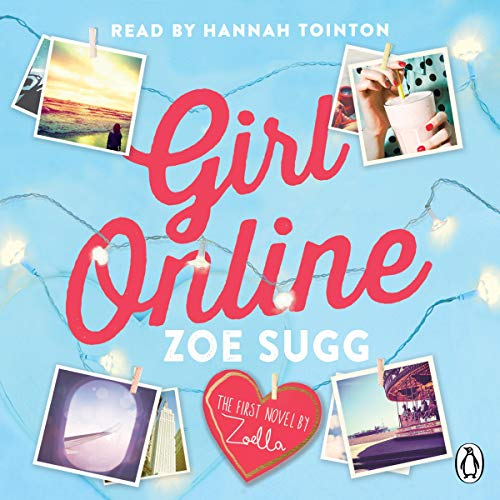 Girl Online audiobook cover art