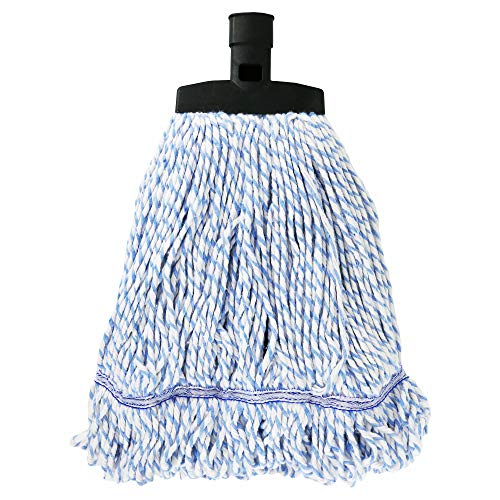 SWOPT Cotton/Rayon Mop Head for Use on Wood,Laminate and Tile Floors