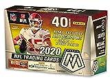 2020 Panini Mosaic NFL Football MEGA box (ten 4-card pks/bx)