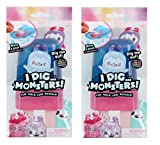 I Dig…Monsters Popsicle Pack - 2 Pack Collectable ASMR Toy - Fun & Cute Stress Relief Toy - Styles May Vary, Multicolor (75549)