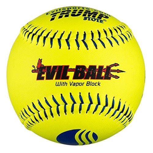 """1 Dozen Evil Ball USSSA 12"""" Softballs - 40cor/.325 Compression (MP-Evil-CLAS-Y-2) Classic M"""