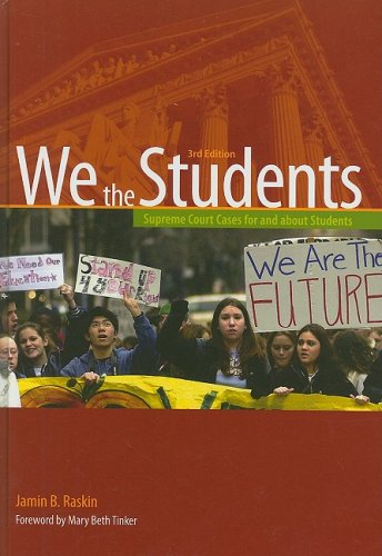 Download We the Students (We the Students (Cloth)) 0872897605