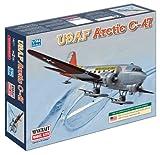 Minicraft Models Dempsey Designs Morceau modèles Echelle 1: 144cm U.S.A.F C-47Version Artic modèle Kit