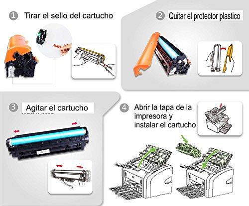 Bramacartuchos - Cartucho compatible HP LaserJet CB435A, P1005, P1006, P1007, P1009, P1008, CB435A, 35A 1500 copias.