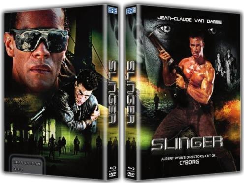 CYBORG (3-Disc Edition - SLINGER Cut DVD & Blu-ray) Mediabook - Jean-Claude Van Damme (Cover C)