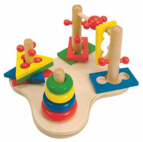 Woodyland 20 x 15 cm didactique Toys Motricité Jeu 3D (12 pièces)