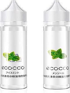 電子タバコ リキッド プルームテック メンソール アイスメンソール ミント 大容量 VAPE ベイプ E-liquid 60ml×2本 セット Ecocco