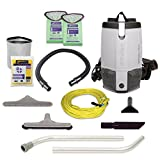ProTeam Backpack Vacuums, ProVac FS 6 Commercial Backpack Vacuum with HEPA Media...