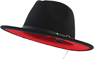 Best red bottom brim hat Reviews