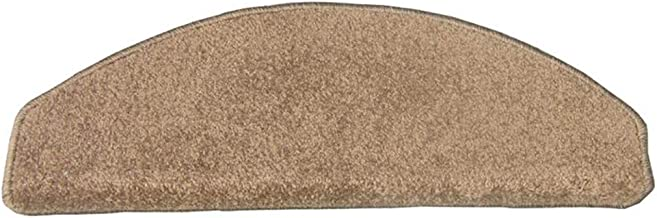 JIAJUAN Stair Carpet Treads Curved Wear Resistant Non-Slip Rugs Hard Floor Staircase Tread Mats, 6 Colors, 2 Sizes, Custom...