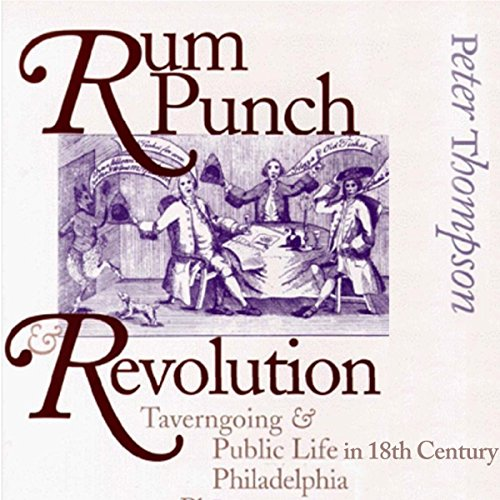 Rum Punch & Revolution audiobook cover art