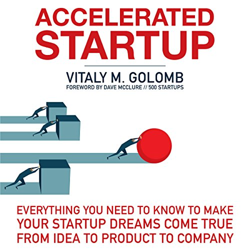 Accelerated Startup audiobook cover art