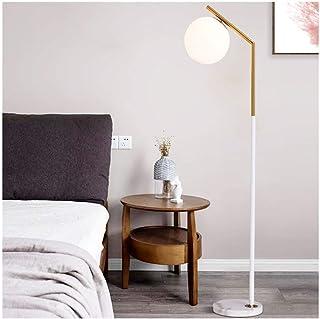 ZGP-LED Lampes de Sol Lampadaire LED en Verre dépoli - Lampadaire de Salon - Lampadaire Haute intensité for la Chambre et ...