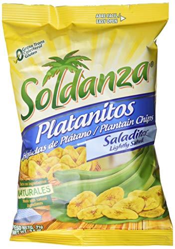 Soldanza, Plátano deshidratado - 24 de 71 gr. (Total: 1700 gr.)