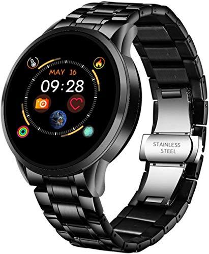 Smart Watch Wasserdicht Sport Fitness Tracker für Android IOS Keramik Armband Smart Watch Verstecken