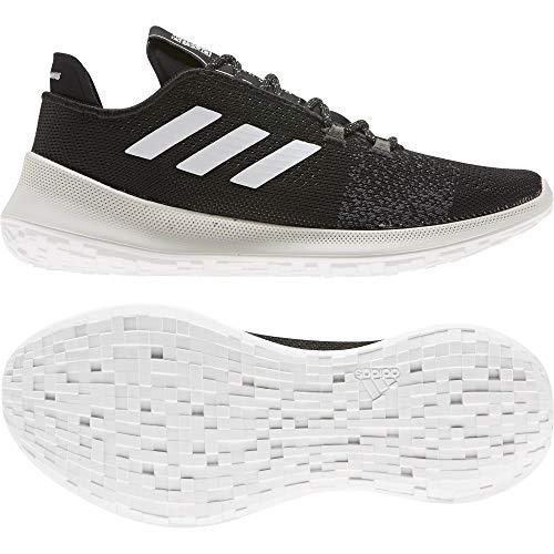 Adidas SENSEBOUNCE + Ace W, Zapatillas Running Mujer, Negro (Core Black/FTWR White/Grey Six)