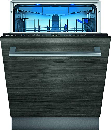 Siemens SX75ZX49CE iQ500 Vollintegrierter Geschirrspüler / C / 75 kWh / 2660 L/Jahr / Zeolith Trocknung / Smart Home kompatibel via Home Connect / glassZone im Oberkorb
