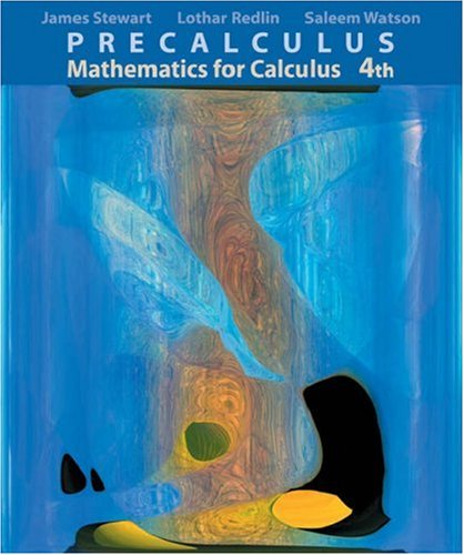 Precalculus: Mathematics for Calculus (Available Titles CengageNOW)