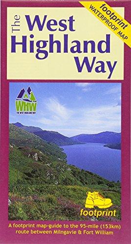 West Highland Way (Footprint Map) (Footprint Maps)