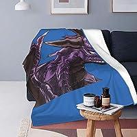 パープルドラゴン (2) 人気 毛布 掛け布団 軽量 携帯する 昼休み毛布 多機能 静電防止 抗菌 防臭 ソファ毛布 高級簡約 通勤旅行に必要なもの オフィス毛布 ふとん 男女兼用