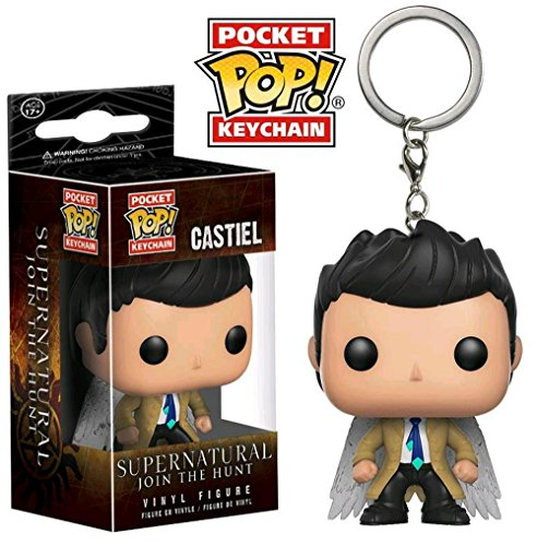 Pocket POP Keychain: Supernatural -Winged Castiel