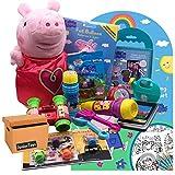 JuniorToys Peppa Pig Restpostenpaket Peppa Wutz mit 10 Artikeln inklusive Plüschfigur