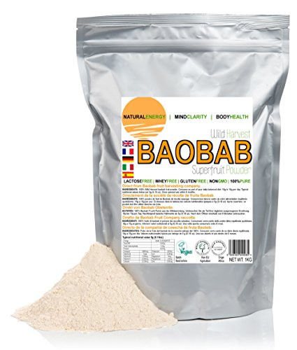 1kg (1,000 grams) Baobab fruit Powder - Direct from harvesting company