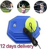 Amigo S.L Tennis Trainer Rebound Ball Tennis Trainer Equipment Trainer Base Self-Study Practice Training Tool Training Gear for Kids Player Beginner