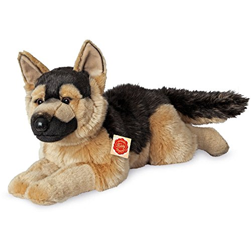 Teddy Hermann- Peluche-Berger Allemand-Inclinable, 919247, 60 cm