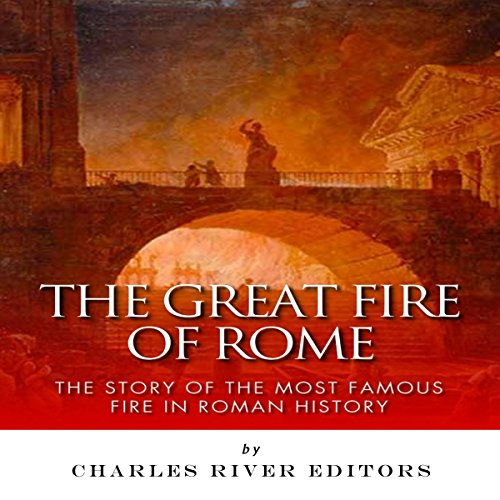 The Great Fire of Rome audiobook cover art